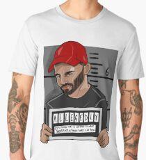 "Bruce Jackson ""Allegedly""  Men's Premium T-Shirt"