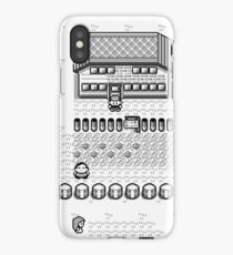 Pokemon Gameboy In Game Screen iPhone Case/Skin
