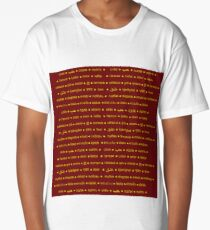 love in different languages Long T-Shirt