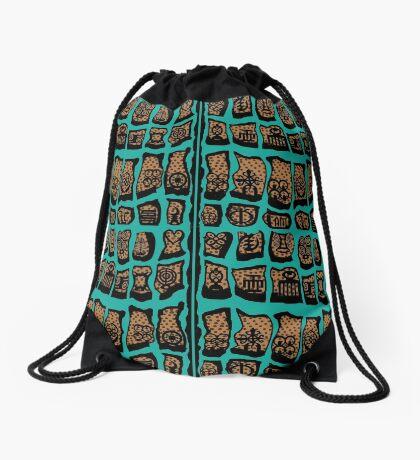 Wild Women Aint got no Blues Drawstring Bag