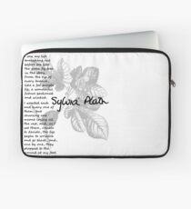 Author Words of Wisdom - Sylvia Plath Laptop Sleeve