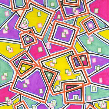 Funky Squares by chippychowmein