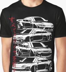 Kill all tires. Nissan S13, S14, S15  Graphic T-Shirt