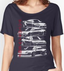 Kill all tires. Silvia S13, S14, S15  Women's Relaxed Fit T-Shirt