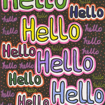 Hello by chippychowmein