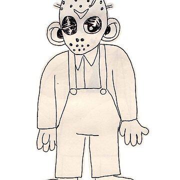 jason doodle by grubsludge