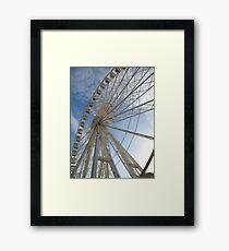 Big wheel keep on turning Framed Print