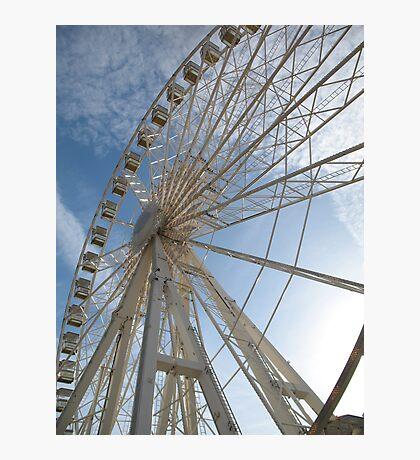 Big wheel keep on turning Photographic Print