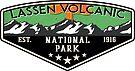 LASSEN VOLCANIC NATIONAL PARK CALIFORNIA MOUNTAINS VOLCANO CAMPER by MyHandmadeSigns
