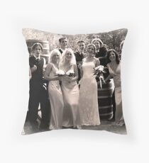 Wedding Party  Throw Pillow