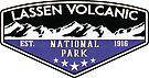 LASSEN VOLCANIC NATIONAL PARK CALIFORNIA MOUNTAINS VOLCANO CAMPER 2 by MyHandmadeSigns