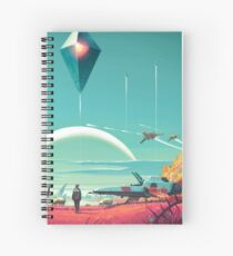 No Mans Sky - Horizon Spiral Notebook