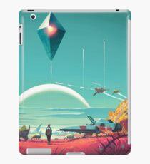 Kein Mann-Himmel - Horizont iPad-Hülle & Klebefolie