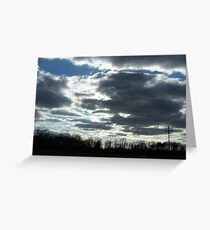 clouds 2 Greeting Card