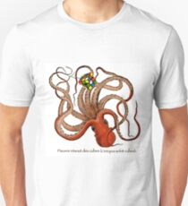 Octopus With Rubik's Cube T-Shirt