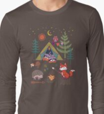 Woodland Animals Campout T-Shirt