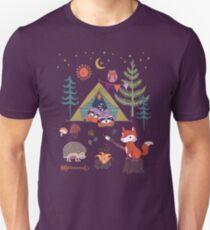 Woodland Animals Campout Unisex T-Shirt