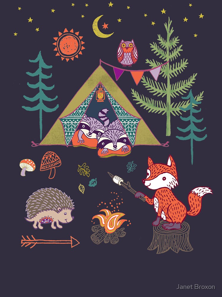 Woodland Animals Campout by jbroxon