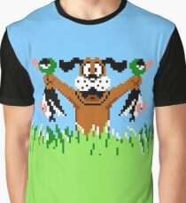 Duck Hunt In Game Screen. Graphic T-Shirt
