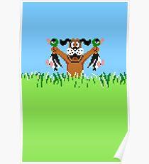 Duck Hunt In Game Screen. Poster