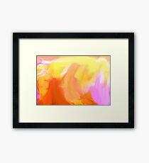 Yello Tulip Framed Print