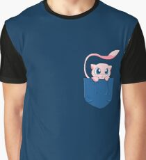 Mew pocket Pokemon Graphic T-Shirt