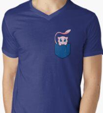 Mew pocket Pokemon Men's V-Neck T-Shirt