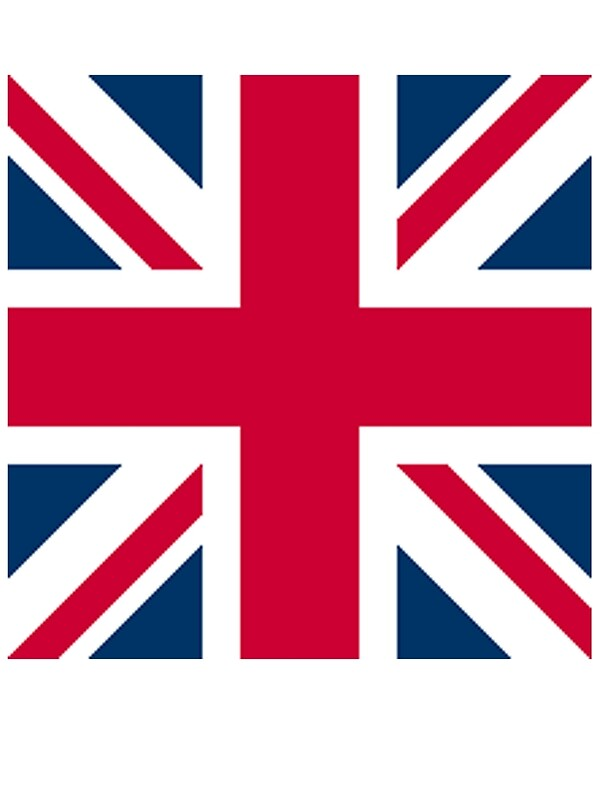 Quot Union Jack Square Flag Uk Gb United Kingdom British