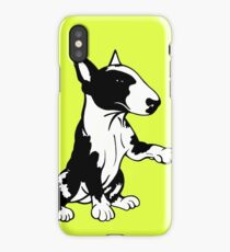 Coloured English Bull Terrier  iPhone Case/Skin