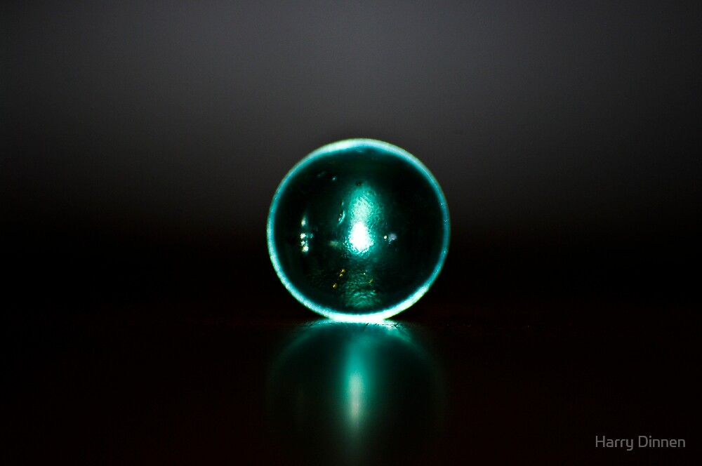 Glass Ball by Harry Dinnen