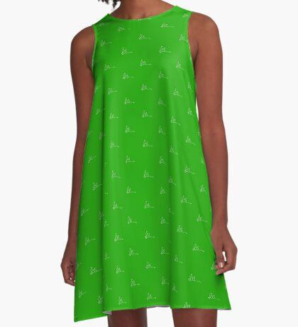Cannabis A-Line Dress
