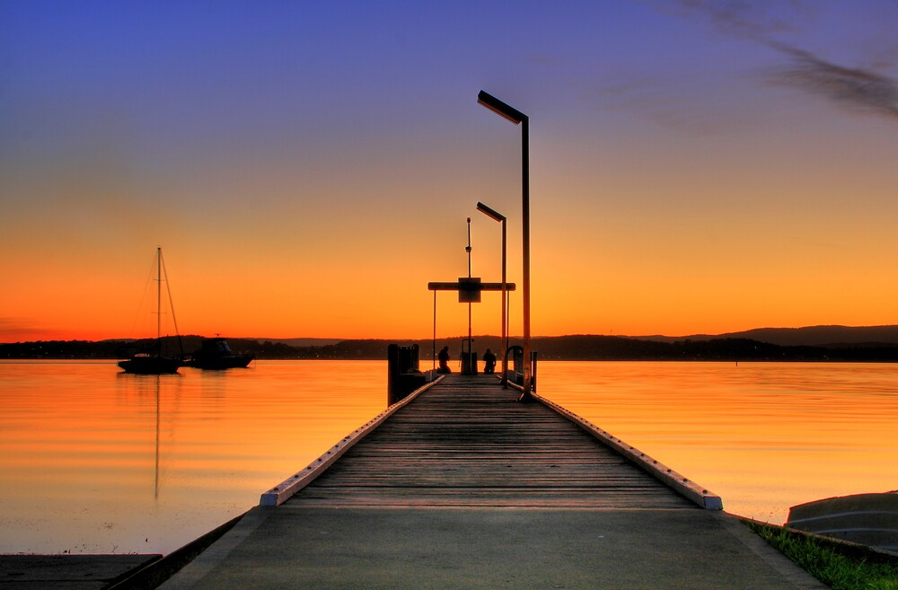 The Jetty by Steve D