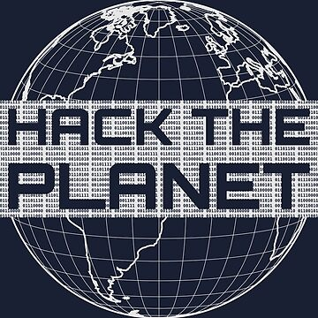 Hack the Planet - Light Gray Design for Computer Hackers by geeksta