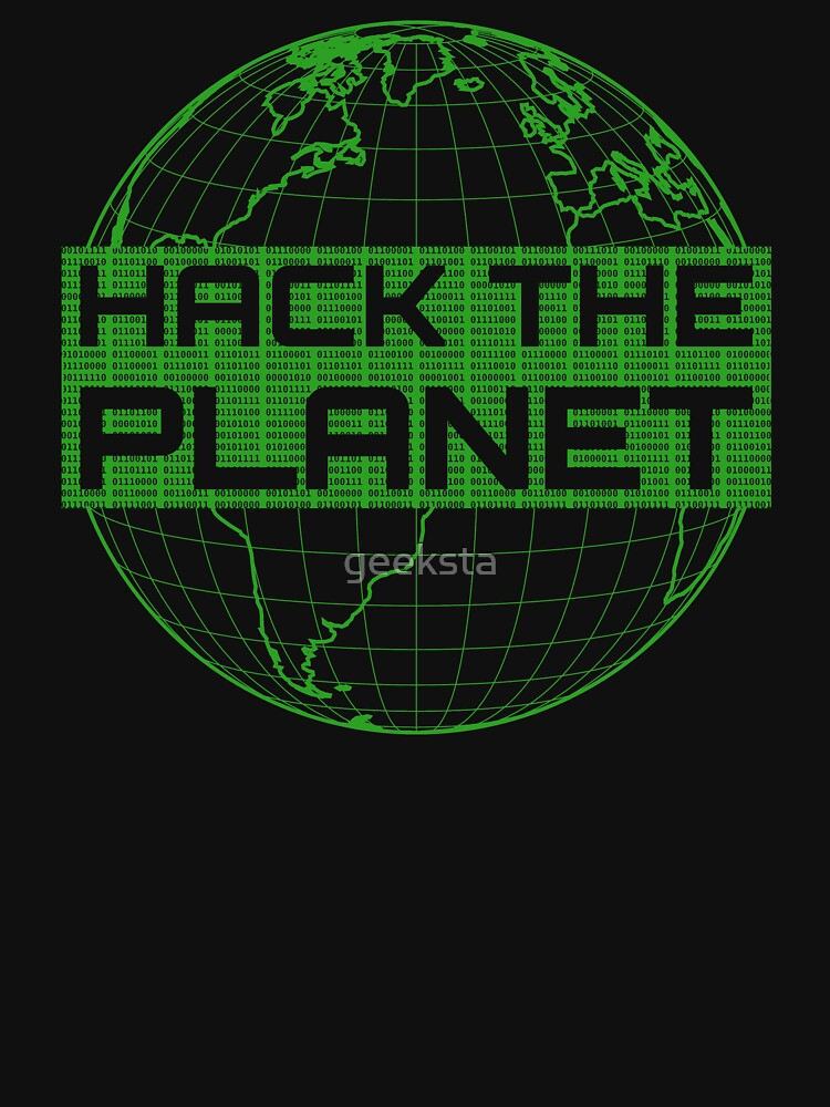 Hack the Planet - Green Design for Computer Hackers by geeksta