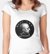 WTF Foucault Women's Fitted Scoop T-Shirt