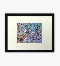 Shadow Chasers Framed Print