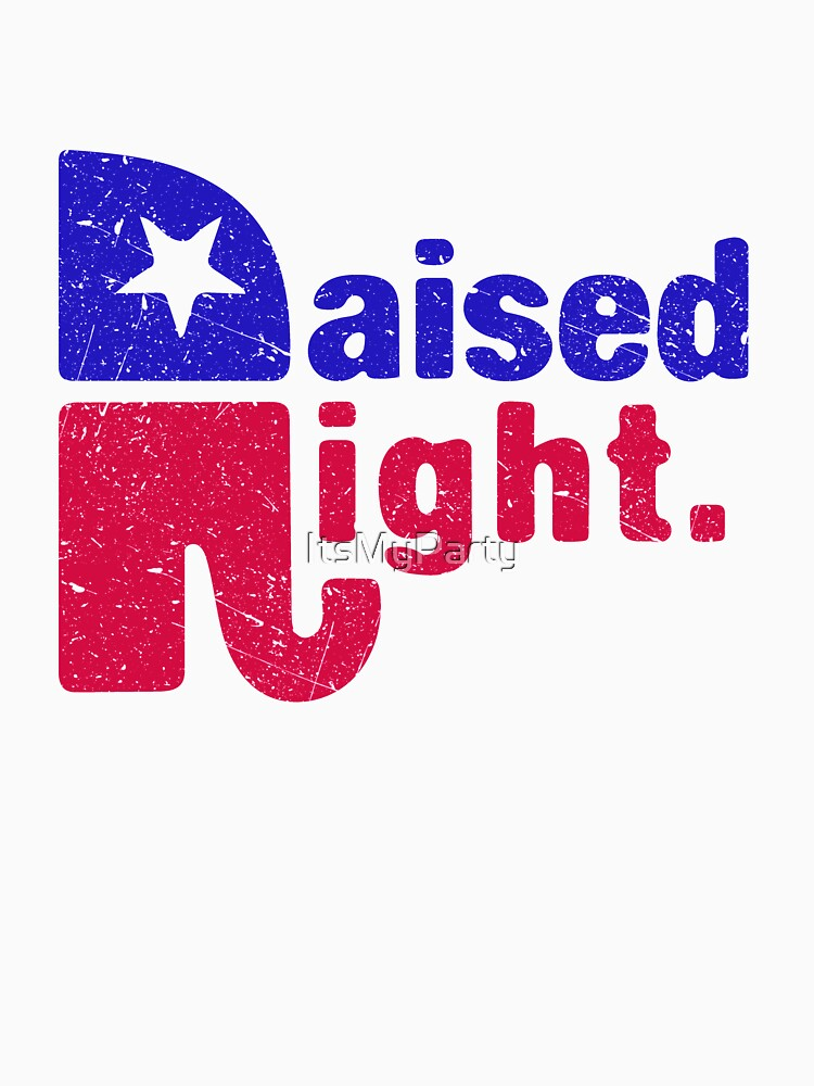 Raised Right - Republikanischer Elefant von ItsMyParty