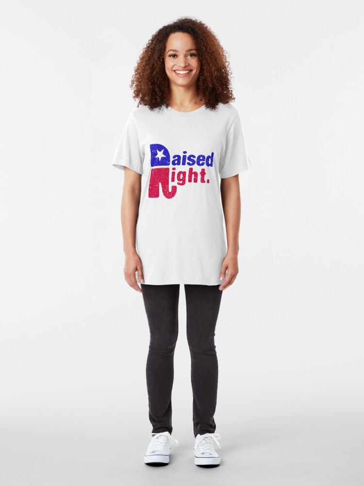 Alternative Ansicht von Raised Right - Republikanischer Elefant Slim Fit T-Shirt