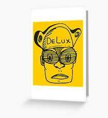 DeLux Man Greeting Card