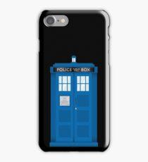 Ceci n'est pas une cabine telephonique iPhone Case/Skin