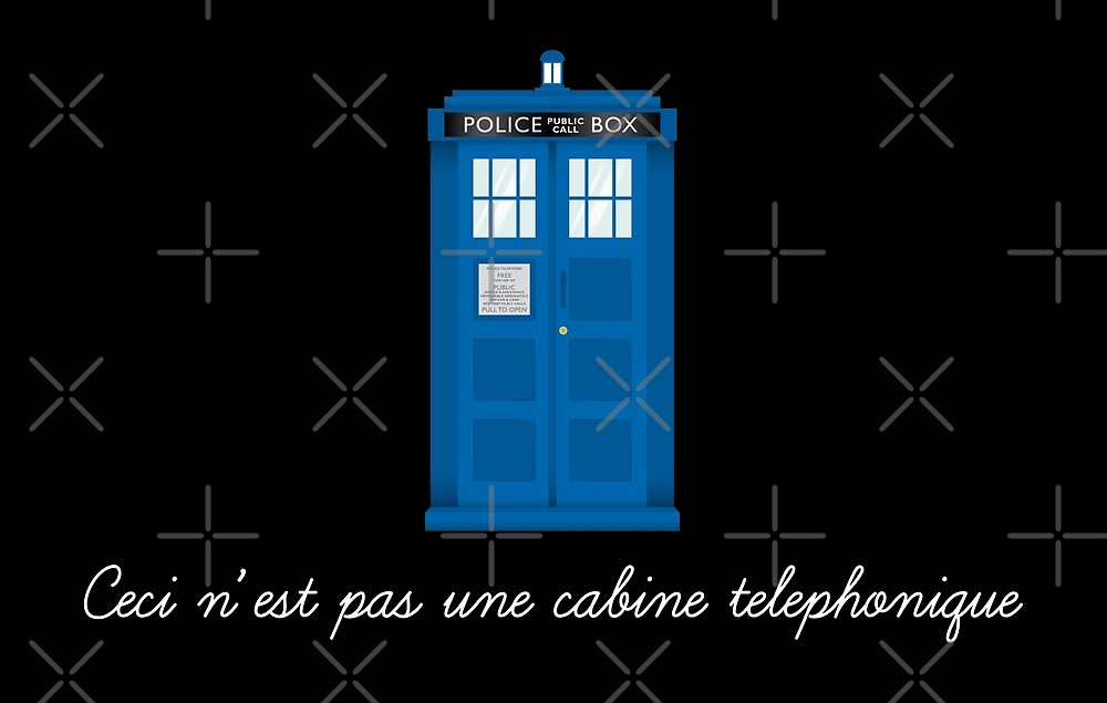 Ceci n'est pas une cabine telephonique by PauEnserius