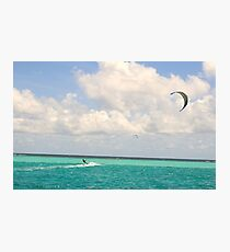 kitesurfer Photographic Print