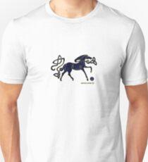 Indigo Horse of Alba Unisex T-Shirt
