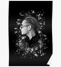 Splash of Color - Bill Kaulitz Poster