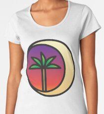 Crescent Palm Women's Premium T-Shirt