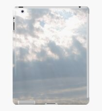 Rays Through the Clouds.  iPad Case/Skin