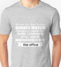 The Office - Michael Scott - Funny Quote Newspaper Headline  Unisex T-Shirt