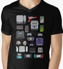 Super Pixel of my Childhood Men's V-Neck T-Shirt