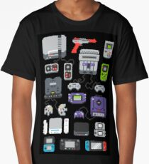 Super Pixel of my Childhood Long T-Shirt