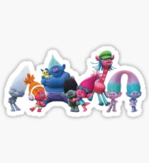 BFFs from Dreamwork's Trolls Sticker